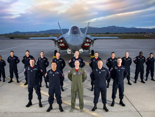 The U.S. Air Force F-35 Heritage Team