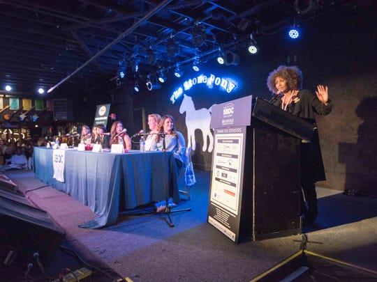 "10/16/17- Asbury Park NJ,  . ""Women Entrepreneurs Rock."