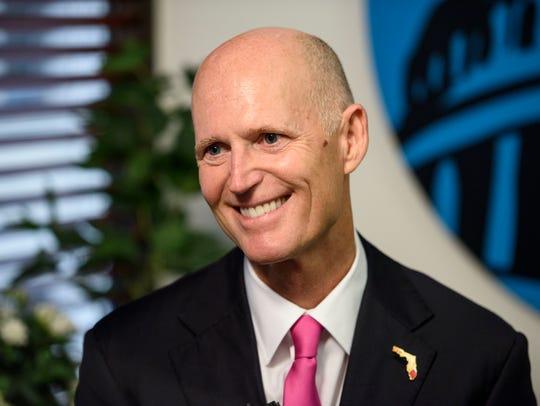 Republican Florida Gov. Rick Scott