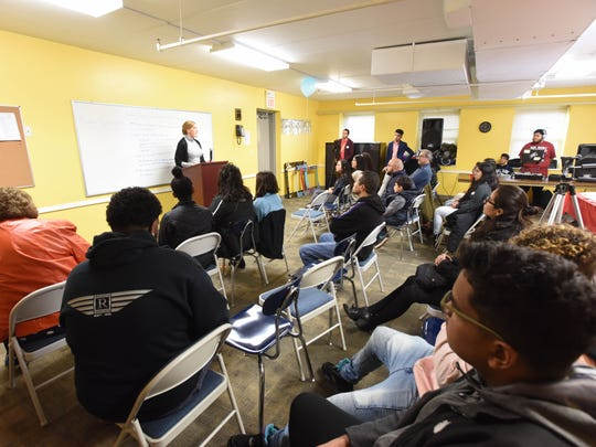 immigrant youth gather to share their stories, discuss why the Dream Act is important for New Jersey.
