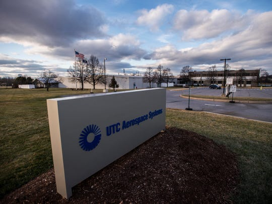 An explosion injured three people at UTC Aerospace in Vergennes on Friday, Dec. 8, 2017.