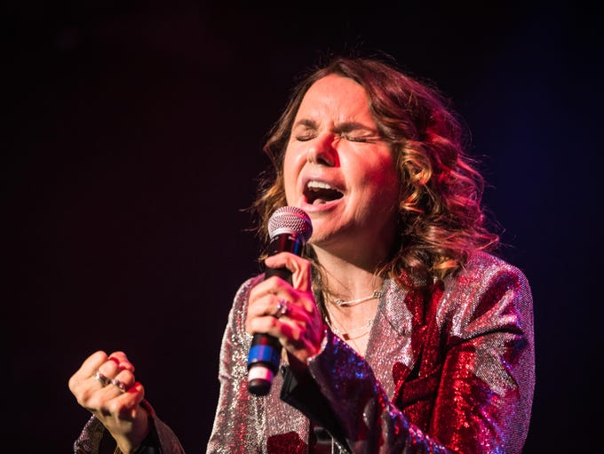 1/3/18 Patty Smyth at the Pat DiNizio  tribute show