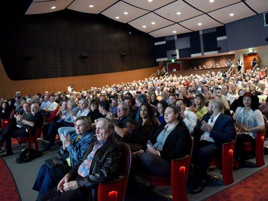 Film Festival attendees at the Closing Night Screening