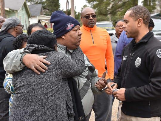 Jackson Police Department Sgt. Roderick Holmes talks