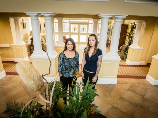 Mariela Osorio, left, owns Senior Moves of New Jersey