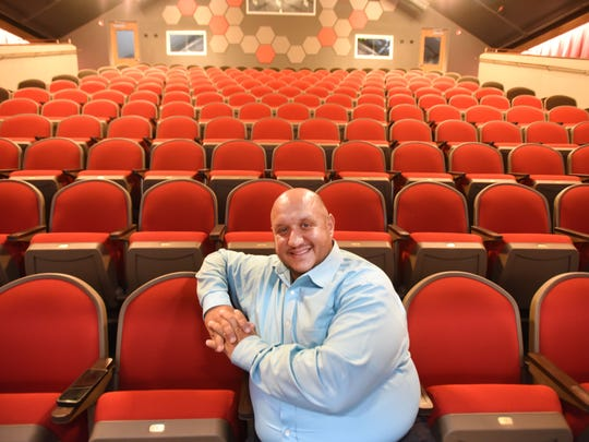 """""""Hamiltunes"""" will be presented at the recently-opened Hackensack Performing Arts Center.  Here's artistic Director Greg Liosi in the front row."""