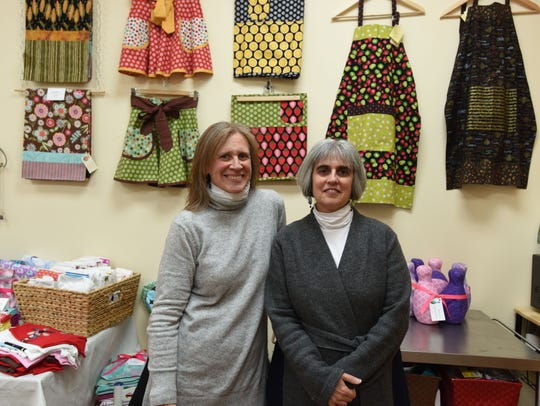 Sisters Susie Levy and Kathy Pecht, owners of The Craft