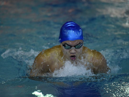 Passaic Tech Aman Nitro boys swimming state sectional