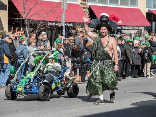 Asbury Park St. Patrick's day parade makes its way down Cookman Ave. 3/11/18  Photo /James J. Connolly/Correspondent