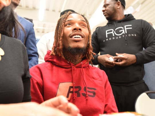 Fetty Wap was at Center City Mall in Paterson in March 2018 to give out gift cards to help people buy Easter meals.