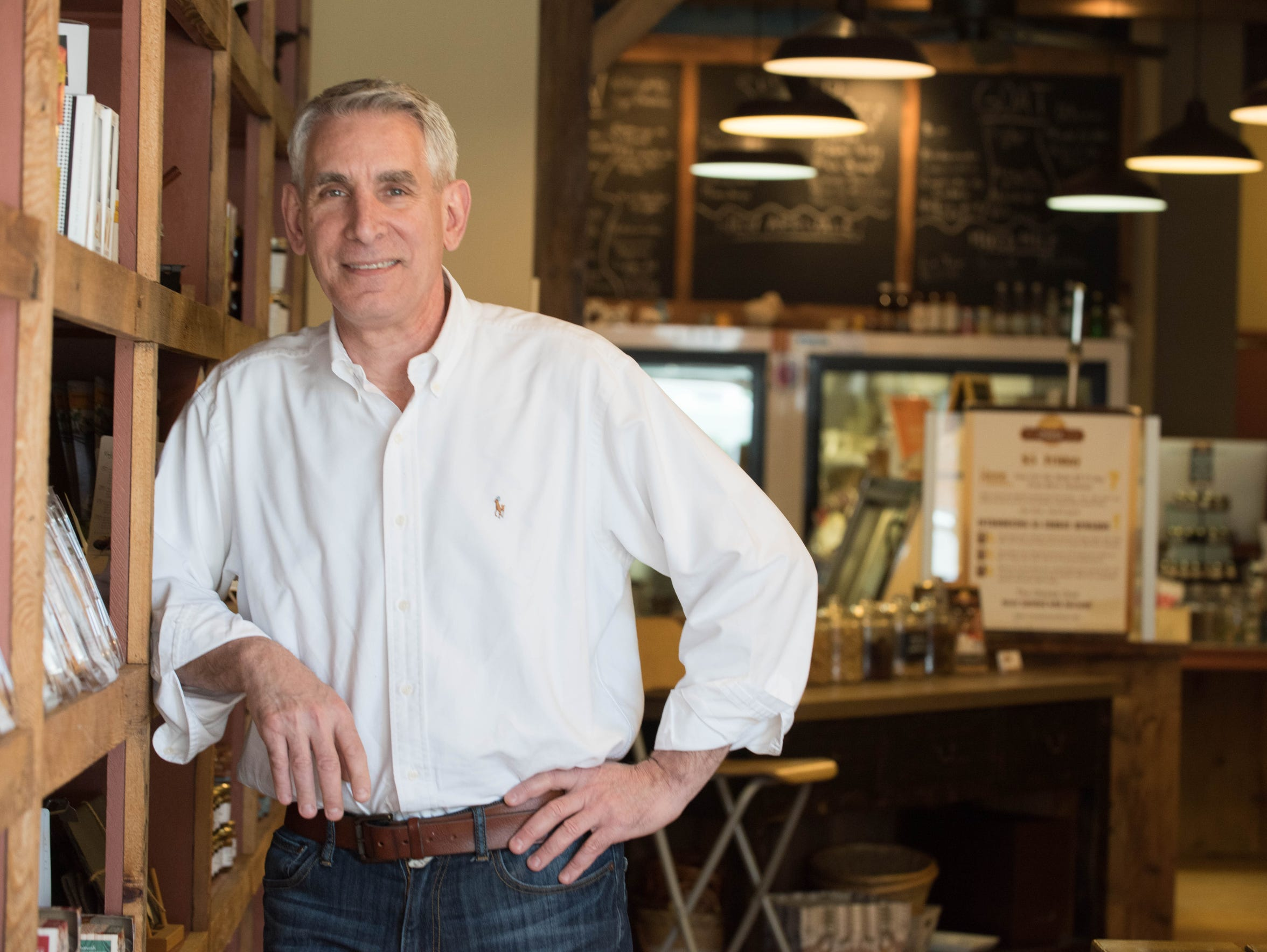 Stephen Catania owns The Cheese Cave in Red Bank.