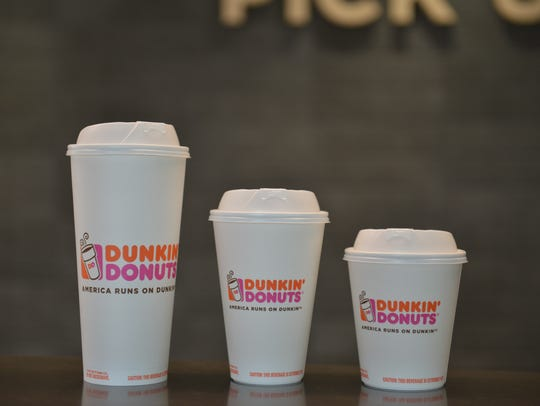 These are the new double-walled paper cups that are