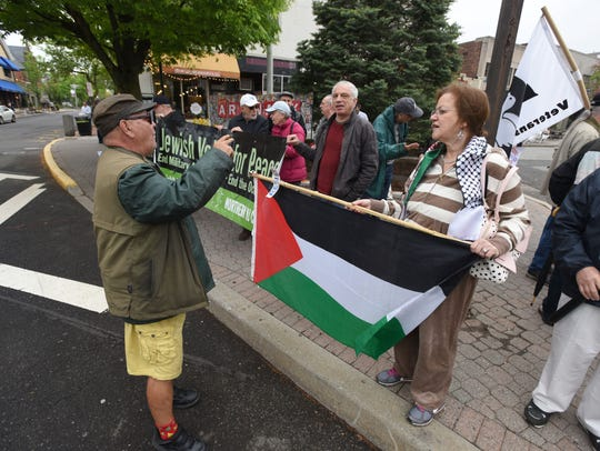 Jewish Voices for Peace of Northern New Jersey holds