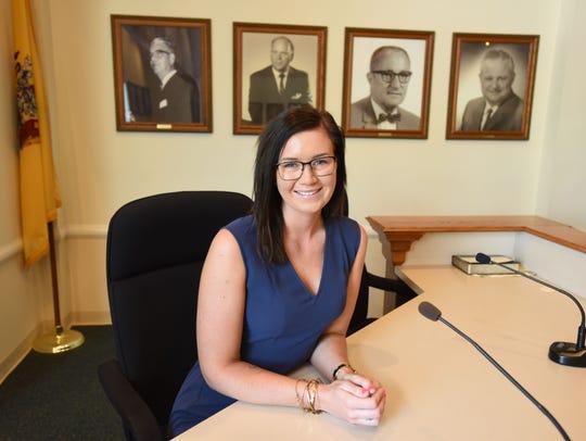 Westwood Councilwoman Alyssa Dawson.