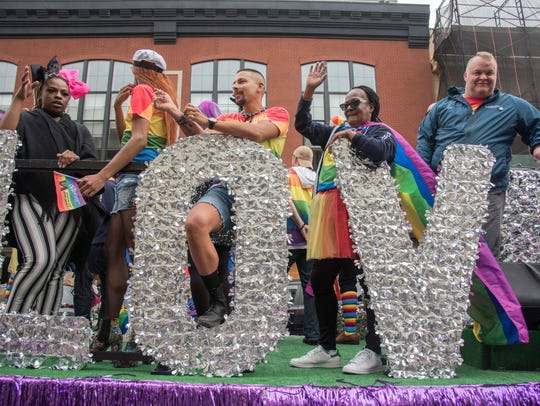 6/03/18  The Asbury hotel float at Jersey Pride Parade