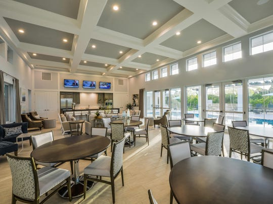 The clubhouse at Hidden Harbor.