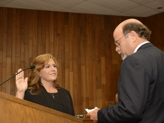 West Monroe Mayor Staci Albritton Mitchell takes her