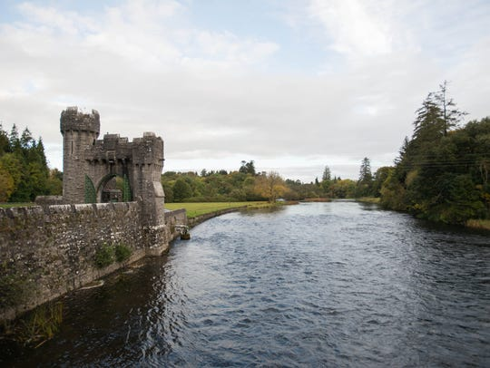 Ashford Castle, Ireland: Located on the shores of Lough
