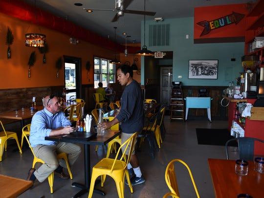 New restaurant El Jefe Gordo sits on the main drag in Rehoboth Beach, Delaware.2