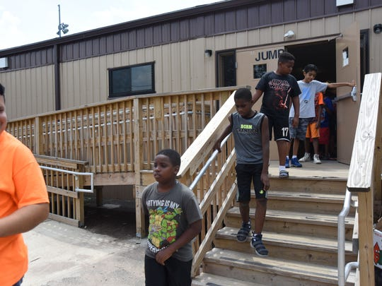 Several kids use the community center daily for a variety