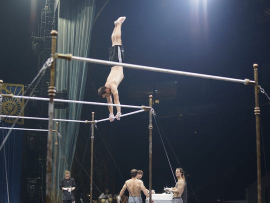 Cirque du Soleil Corteo performers are extremely fit
