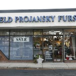 Family business: Held Projansky sells and cares for furs