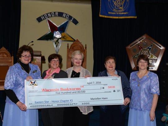 June Meikle (left), Elizabeth LeClaire, Jeri Madden,