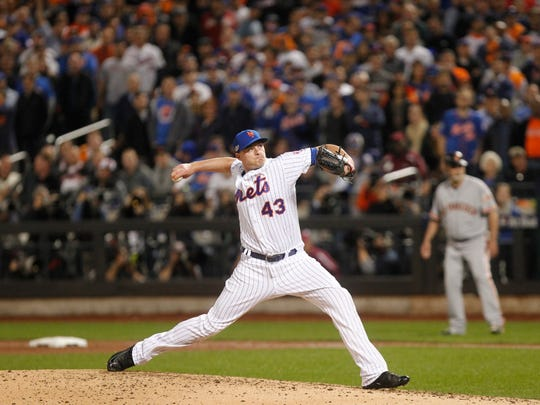 Mets reliever Addison Reed