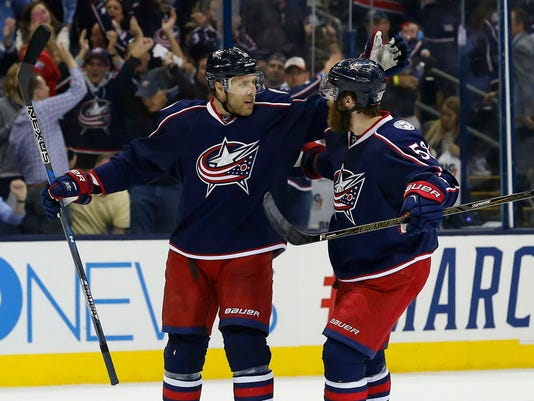 USP NHL: STANLEY CUP PLAYOFFS-PITTSBURGH PENGUINS S HKN CBJ PIT USA OH