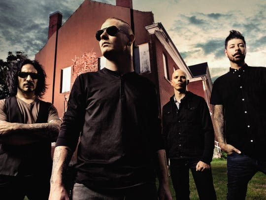 Stone Sour performs at the Rave Saturday.
