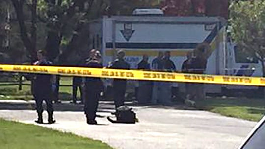 New Jersey State Police were investigating a reported shooting Wednesday at the Rodeway Inn in Buena.
