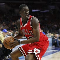 Tony Snell of the Bulls was traded to the Bucks last week in an effort to bolster the shooting guard position after Khris Middleton was injured.