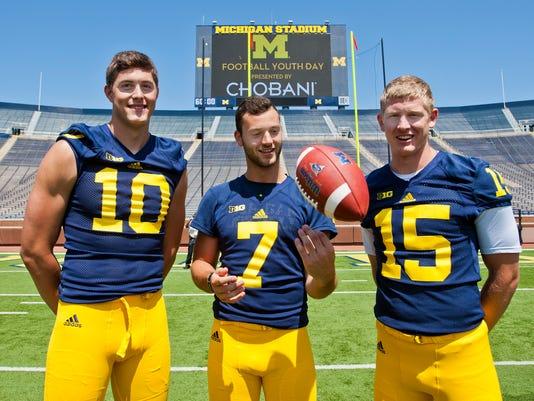 Zach Gentry, Shane Morris, Jake Rudock