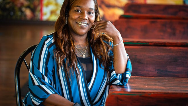 Nickey Alexander of Nickey's Southern Style Kitchen started her restaurant four years ago in the White Oaks Mall food court, but the restaurant now has its own location on South Grand Avenue.