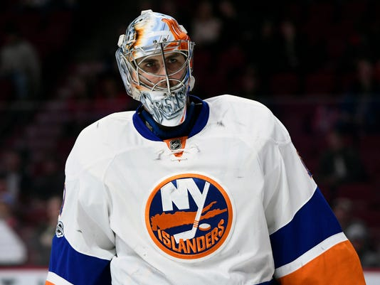 new product a426f a0473 Islanders' Thomas Greiss apologizes for controversial ...