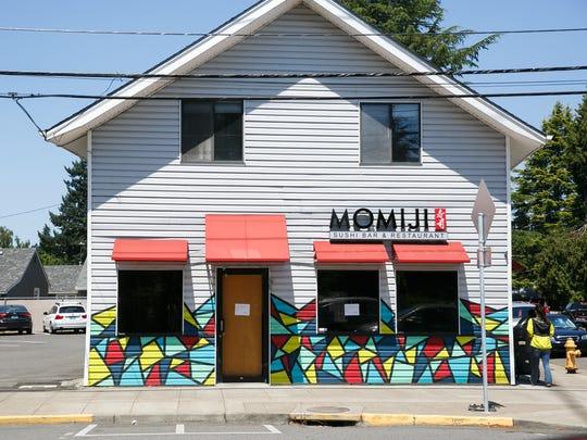 Momiji Sushi Bar and Restaurant in West Salem on Thursday,