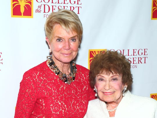 From left: Donna MacMillan and Dorothy Goldstein