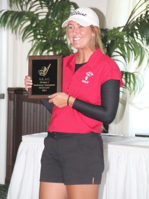 Dixie Heights senior Megan Mauer was individual champion in Division I.
