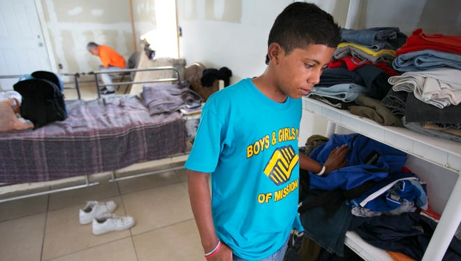 Brayan Soler Redondo, then 14, left his village of Quebrada Mari, in a coffee-growing region southeast of San Pedro Sula,, in mid-April. He said he feared the gangs, who had killed people for acts as innocent as trying to go to school in another gang's territory. He was caught and deported back to El Salvador.