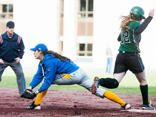 St. Johnsbury vs. Milton Softball 04/23/15