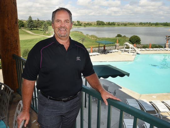 Martin Lind, the developer of Water Valley, controls