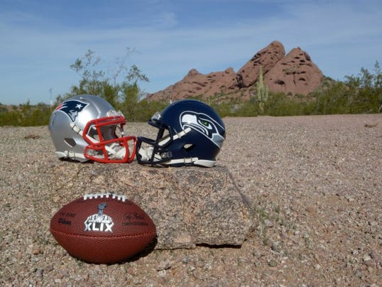 USP NFL: SUPER BOWL XLIX-CITY VIEWS S FBN USA AZ
