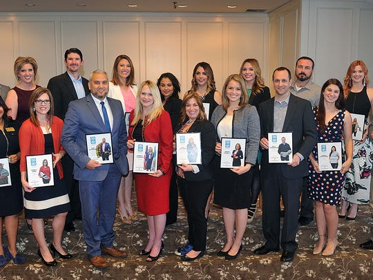 Honorees for the 2016 class of 20 Under 40 were recognized