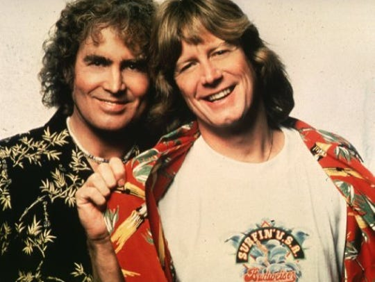 An undated handout photo of singing duo Jan and Dean.