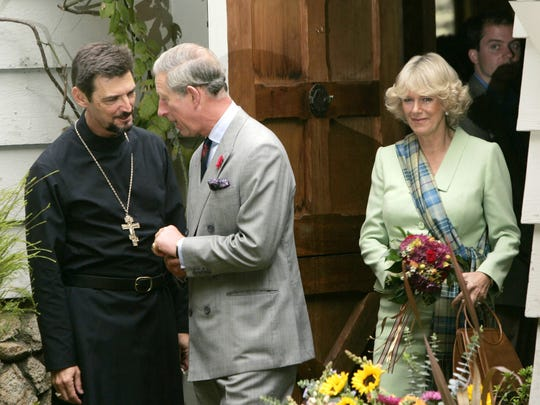 Prince Charles and Camilla, Duchess of Cornwall were married in a simple civil ceremony in 2005 with a blessing afterward.