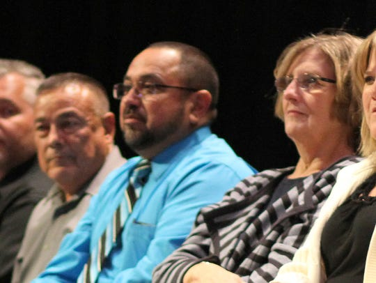Administrators from the Deming Public Schools presented