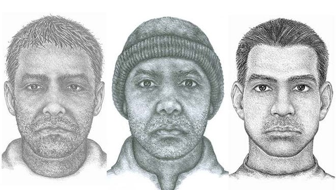 IMPD released these sketches of a man they believe was involved in three different sexual assaults on Indianapolis' north side.