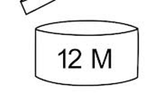 Many products do not have a specific expiration date on the package, but a picture of an open container with a number on it, like this.