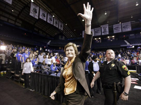 Obit Pat Summitt Basketball (4)
