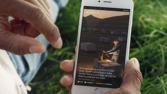 Facebook launched Instant Articles Monday.